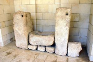 Megiddo Trough at Rockefeller Musem